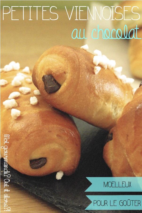 PETITES VIENNOISES AU CHOCOLAT