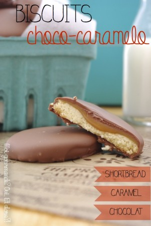 BISCUITS CHOCO-CARAMELO