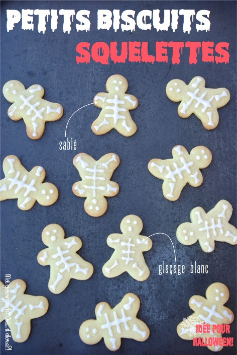 PETITS BISCUITS SQUELETTES
