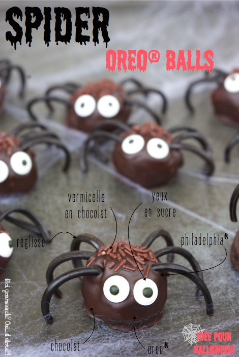 SPIDER OREO® BALLS