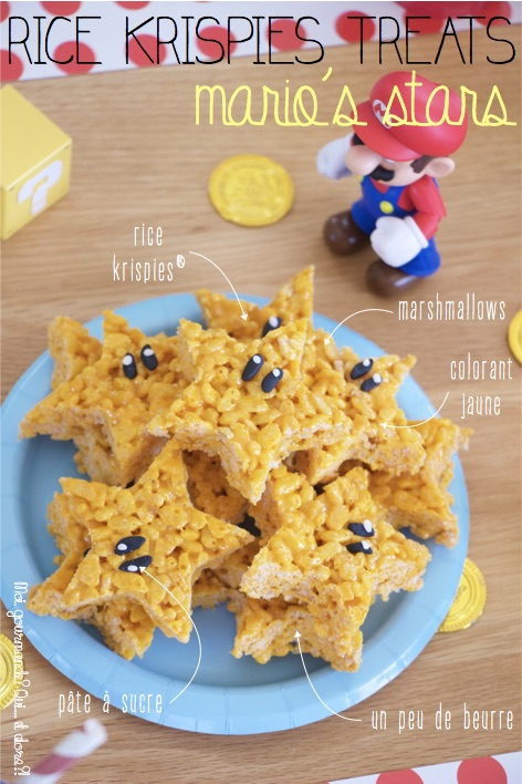 RICE KRISPIES TREATS MARIO'S STARS